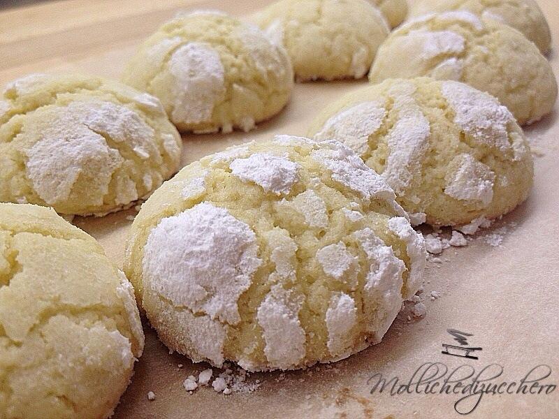Biscottini al limone - Mollichedizucchero