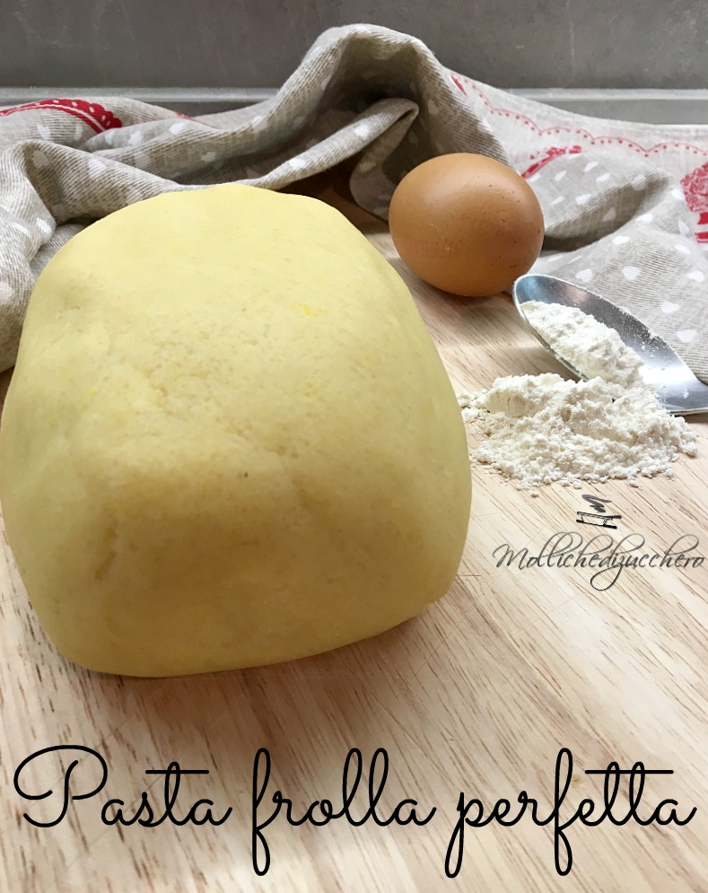 Pasta frolla ricetta perfetta mollichedizucchero for Pasta frolla planetaria