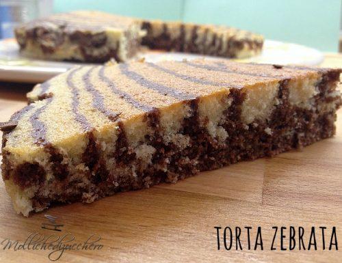 La torta zebrata