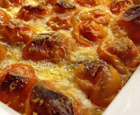 Pomodorini filanti al forno