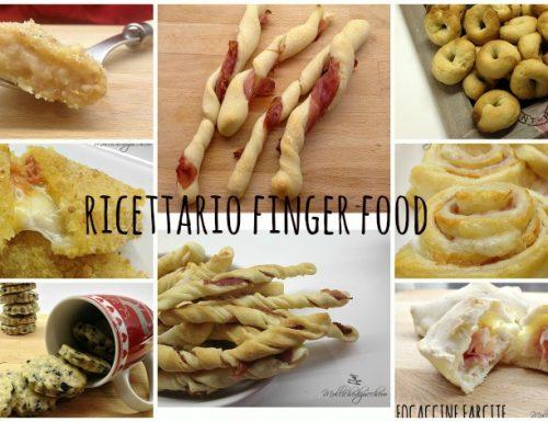 Raccolta ricette Finger Food