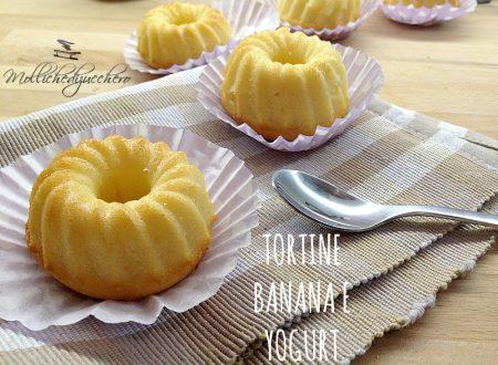 Tortine banana e yogurt
