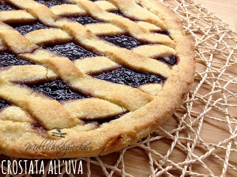 crostata alla marmellata di uva