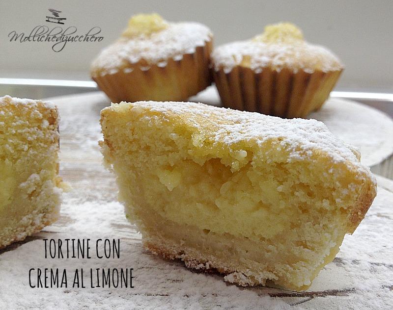 tortine al limone