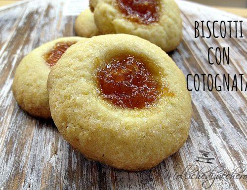Biscotti con cotognata