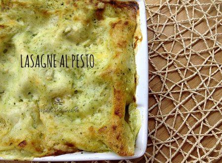 Lasagne al pesto delicate