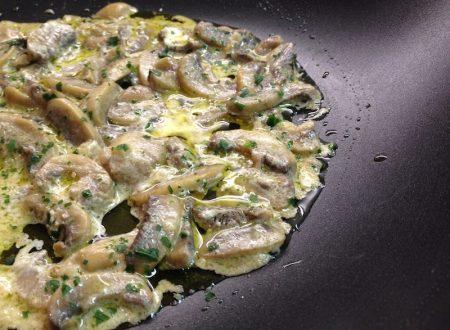 Funghi cremosi ricetta veloce