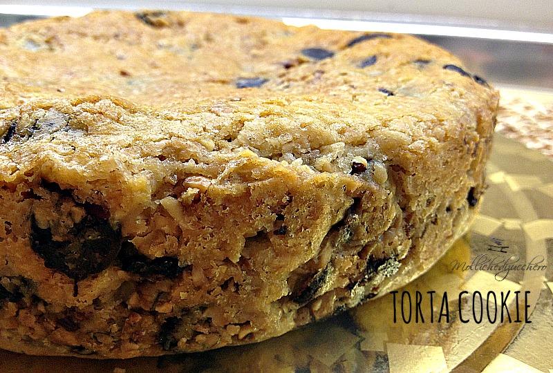 torta cookie - ricetta golosa