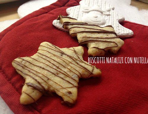 Biscotti natalizi con Nutella