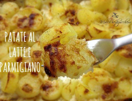 Patate al latte e parmigiano