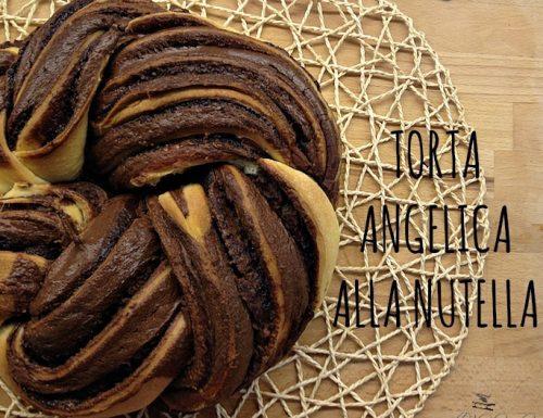 Torta angelica alla Nutella