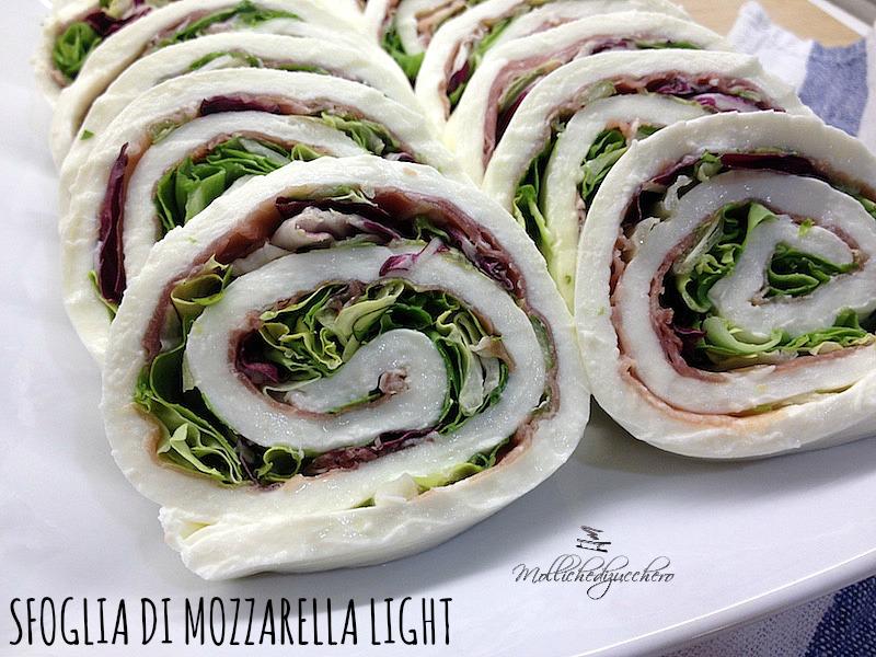 sfoglia di mozzarella light