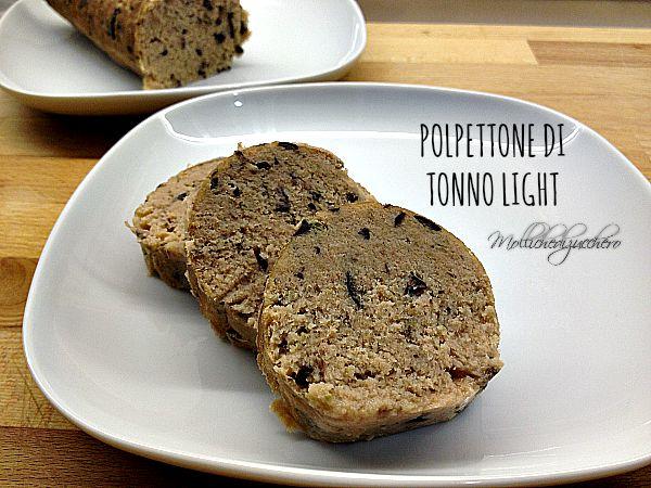 Polpettone di tonno ricetta senza patate