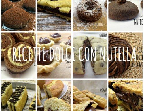 Raccolta dolci con Nutella