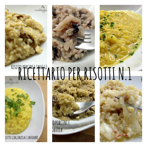Raccolta ricette di risotti n 1 mollichedizucchero for Ricette risotti veloci