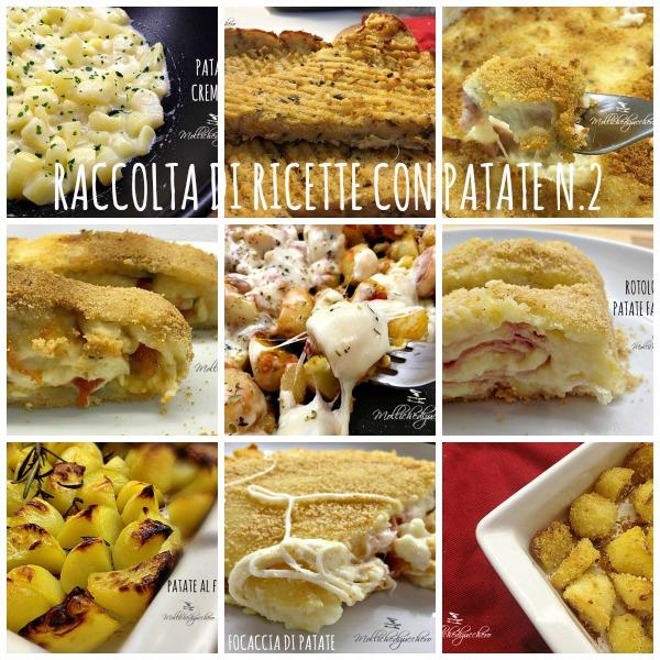 Raccolta di ricette con patate n 2 mollichedizucchero for Raccolta patate