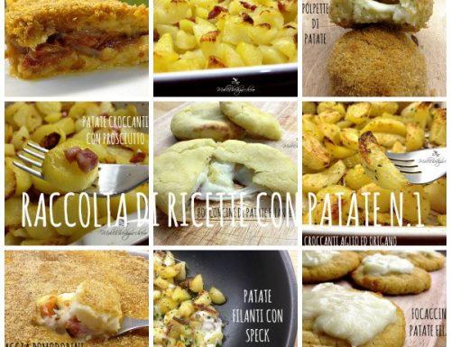 Raccolta di ricette con patate n.1