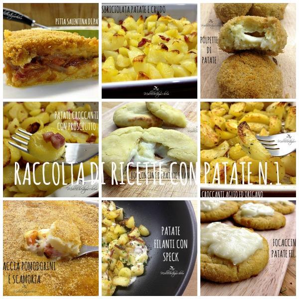 Raccolta di ricette con patate n 1 mollichedizucchero for Raccolta patate
