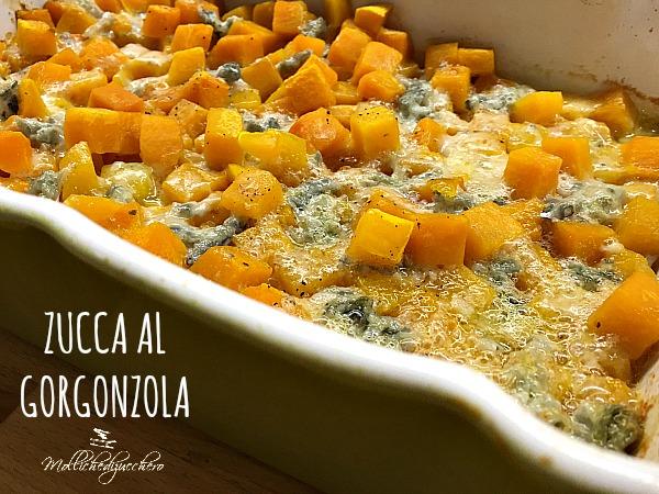 zucca al gorgonzola