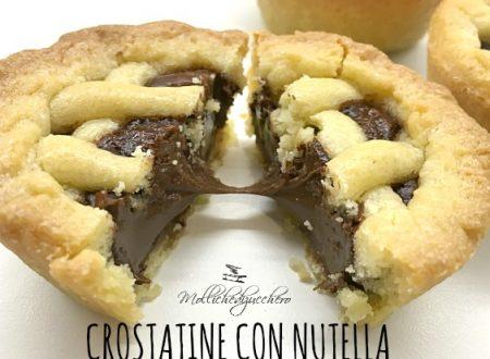 Crostatine alla Nutella