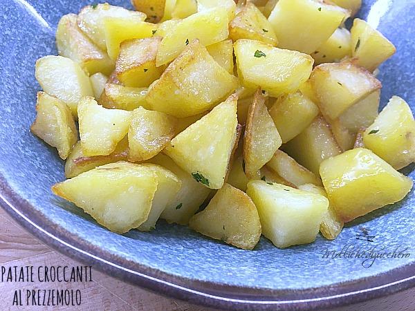 patate croccanti al prezzemolo