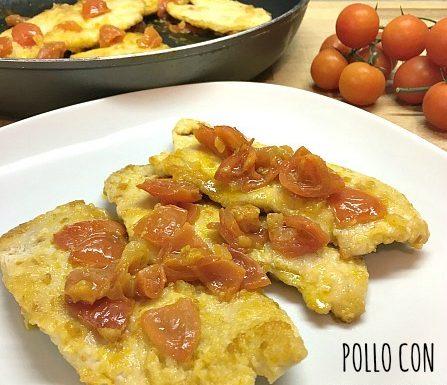 Pollo con pomodorini
