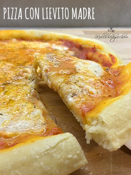 Pizza con lievito madre - ricetta facile -