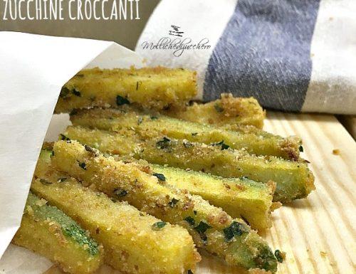 Stick di zucchine croccanti – ricetta facile