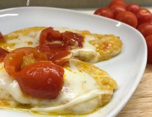 Pollo pomodorini e scamorza