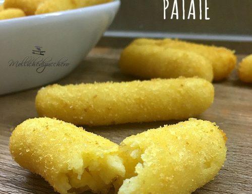 Crocchette di patate ricetta facile