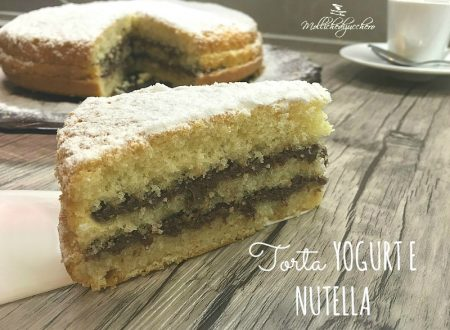 Torta yogurt e Nutella ricetta veloce