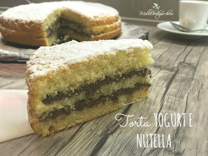 torta yogurt e nutella