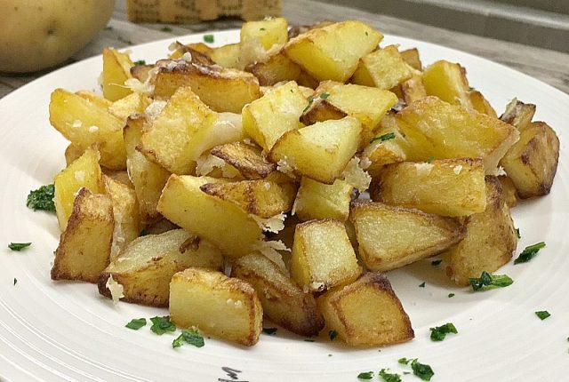 patate croccanti al parmigiano