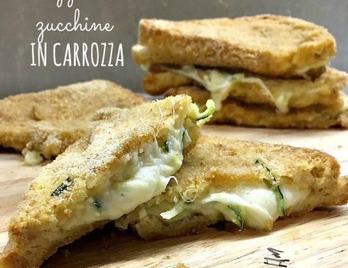 Mozzarella e zucchine in carrozza ricetta facile