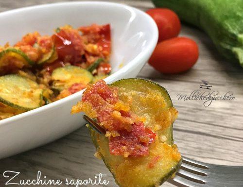 Zucchine saporite in padella ricetta facile