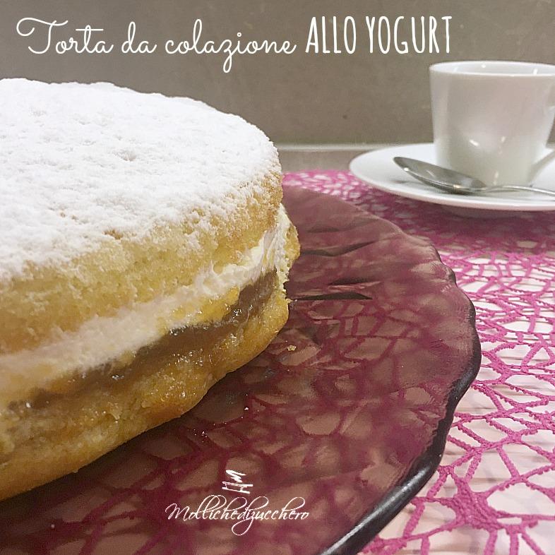 torta da colazione allo yogurt