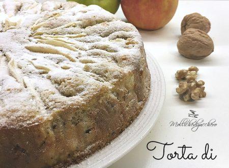 Torta di mele e noci - ricetta facile