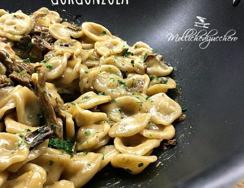 Orecchiette con porcini e gorgonzola ricetta saporita