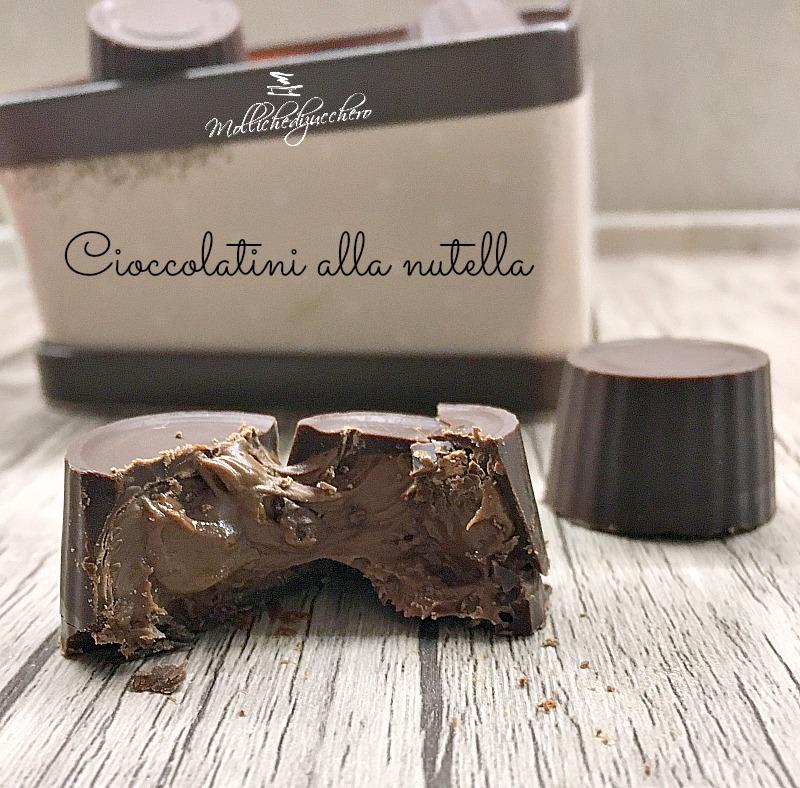 cioccolatini alla nutella