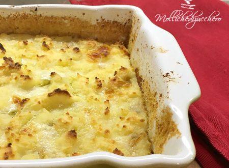 Sbriciolata patate e funghi ricetta saporita