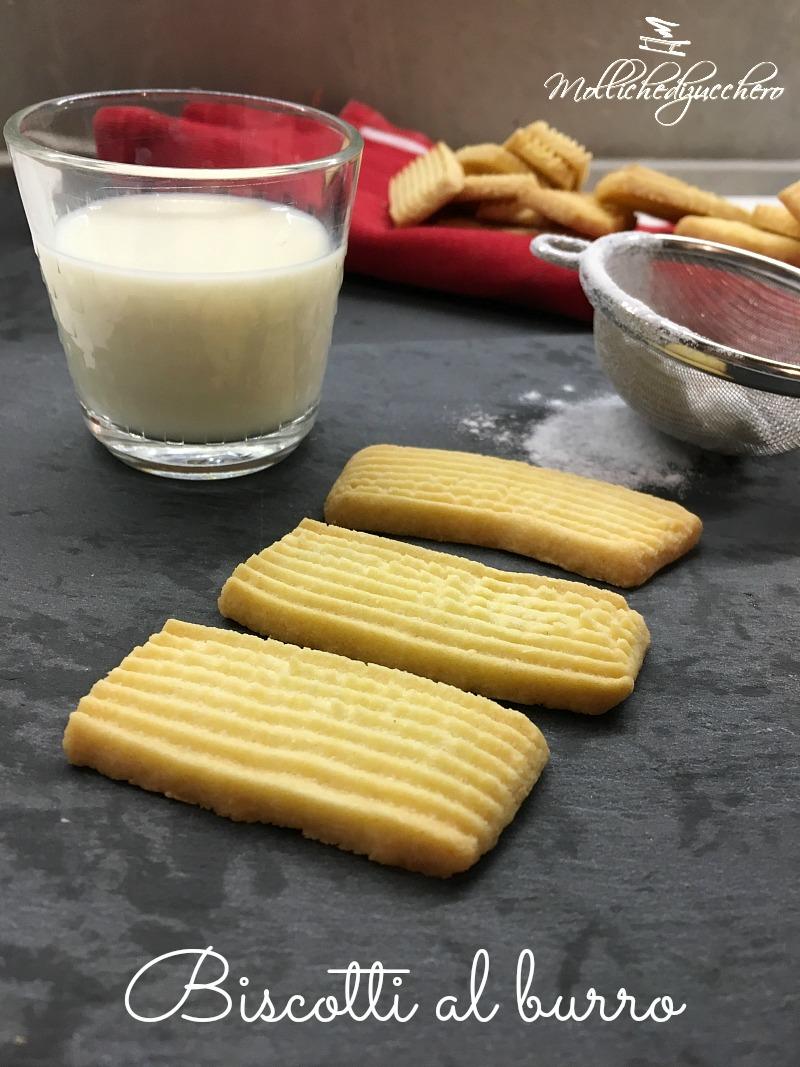 Biscotti al burro - ricetta facile