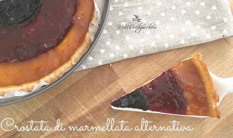 crostata di marmellata alternativa