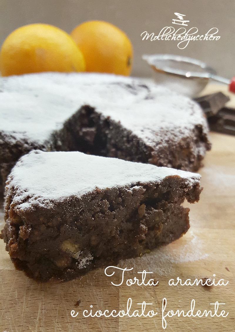 torta di arance e cioccolato