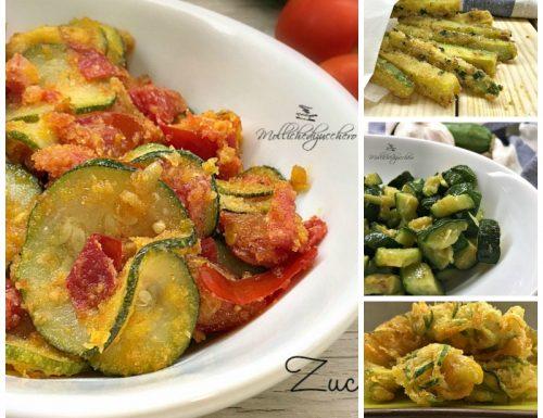 Ricette con zucchine – 20 idee facili e veloci