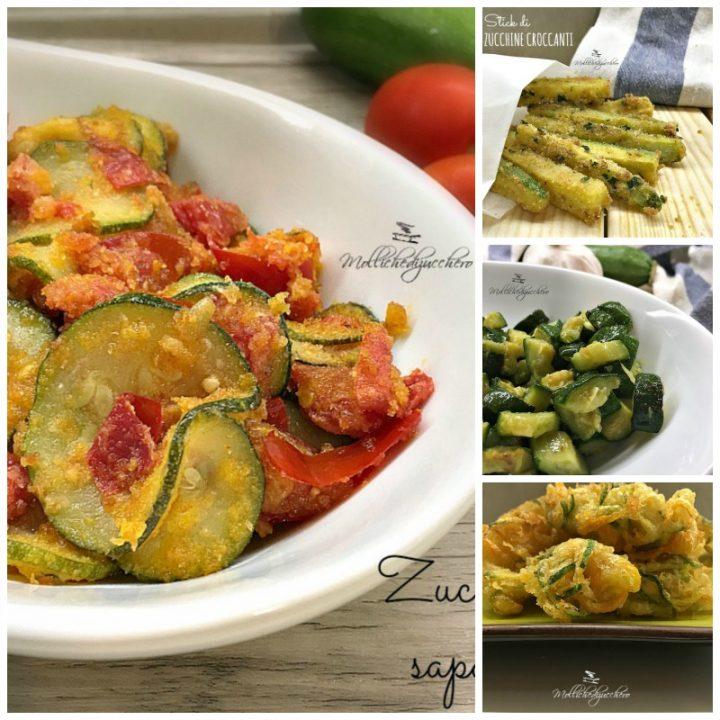 Ricette con Zucchine – Raccolta di 20 Idee Facili e Veloci