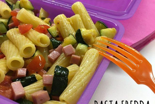 pasta fredda zucchine e prosciutto