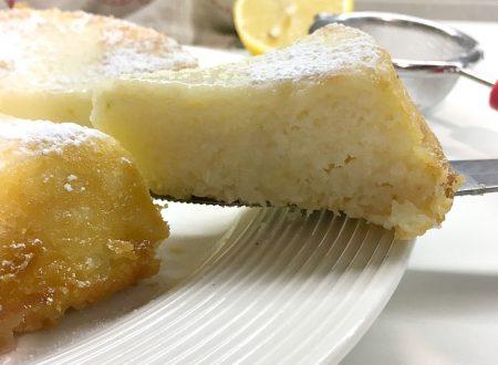 Torta cocco e limone ricetta velocissima