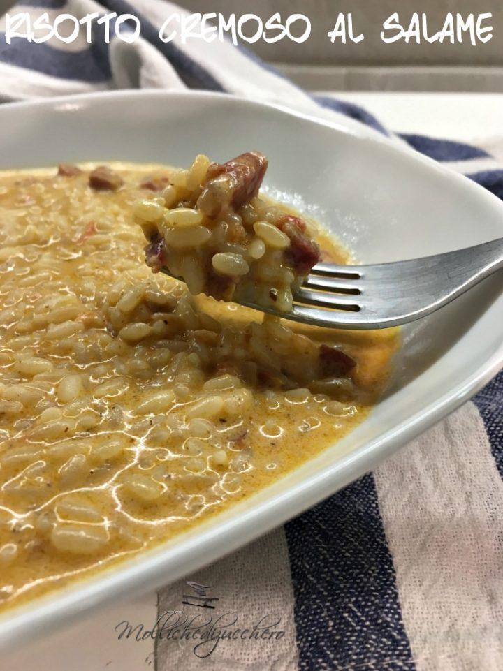 Risotto Cremoso al Salame Ricetta Facilissima