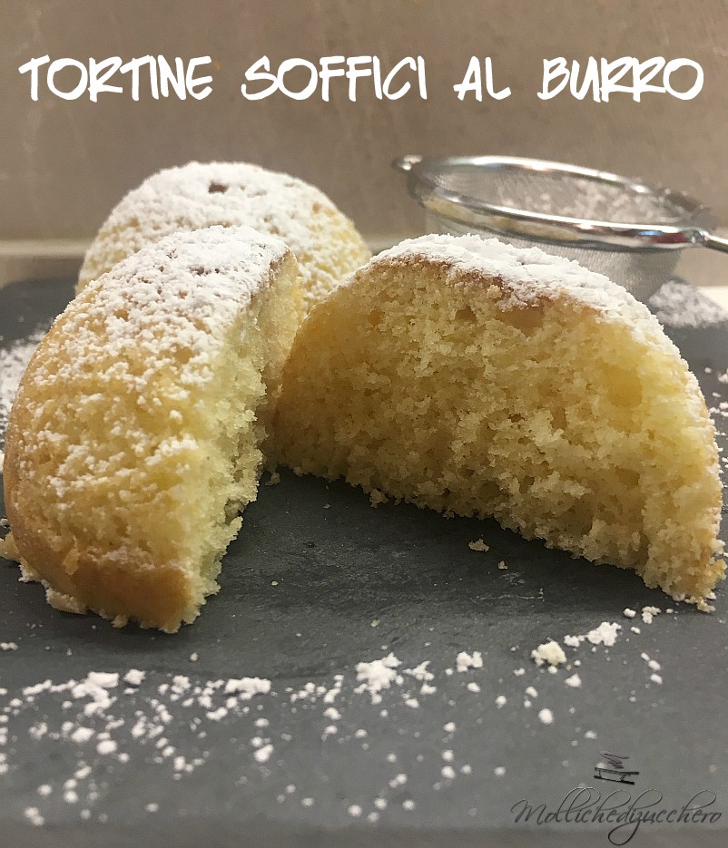 TORTINE SOFFICI AL BURRO
