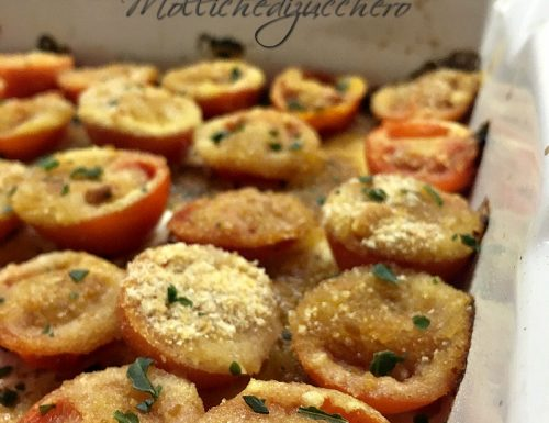 Pomodorini croccanti al forno ricetta saporita